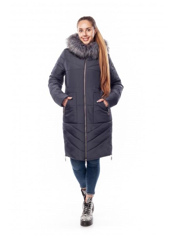 Зимняя женская куртка Диана сезон зима 2019 - 2020