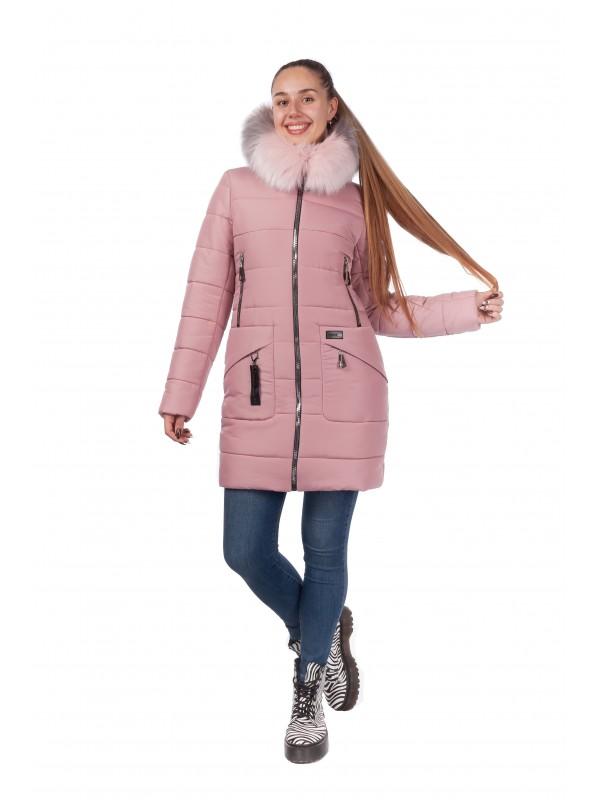 Зимняя женская куртка Николь сезон зима 2019 - 2020