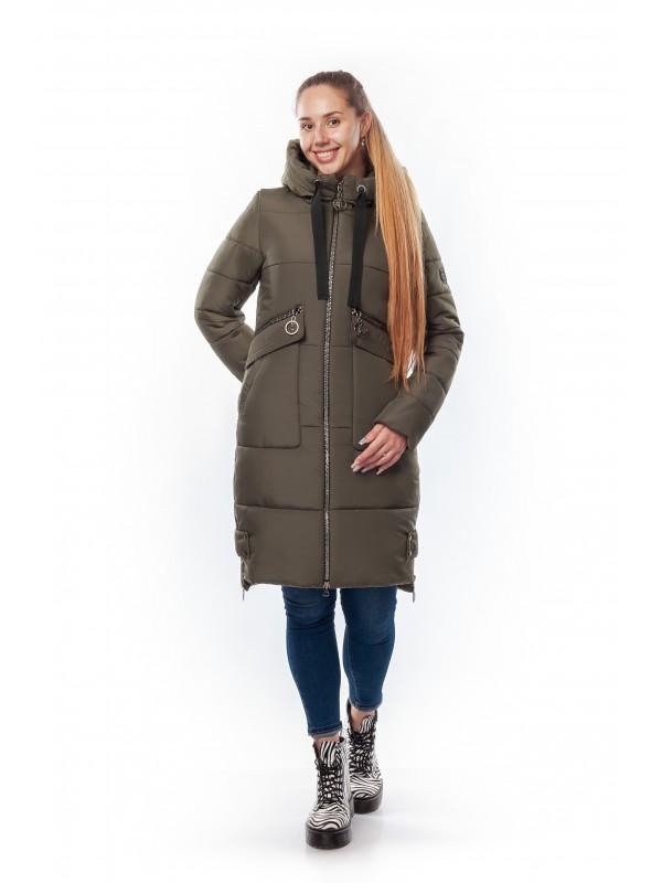 Зимняя женская куртка Злата сезон зима 2019 - 2020