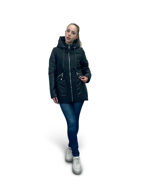 Куртка демисезонная модель Диана сезон зима 2021 - 2022